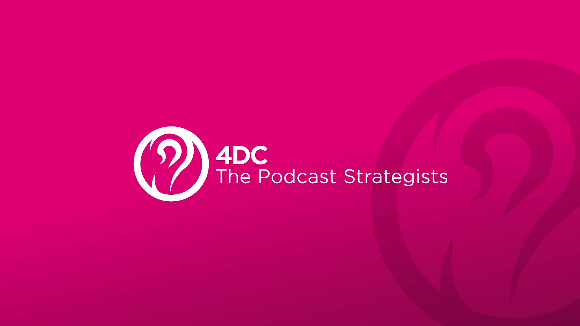 4DC Podcast | Social Media Campaign